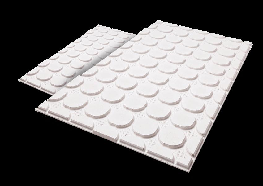 super slim retrofit underfloor heating systems