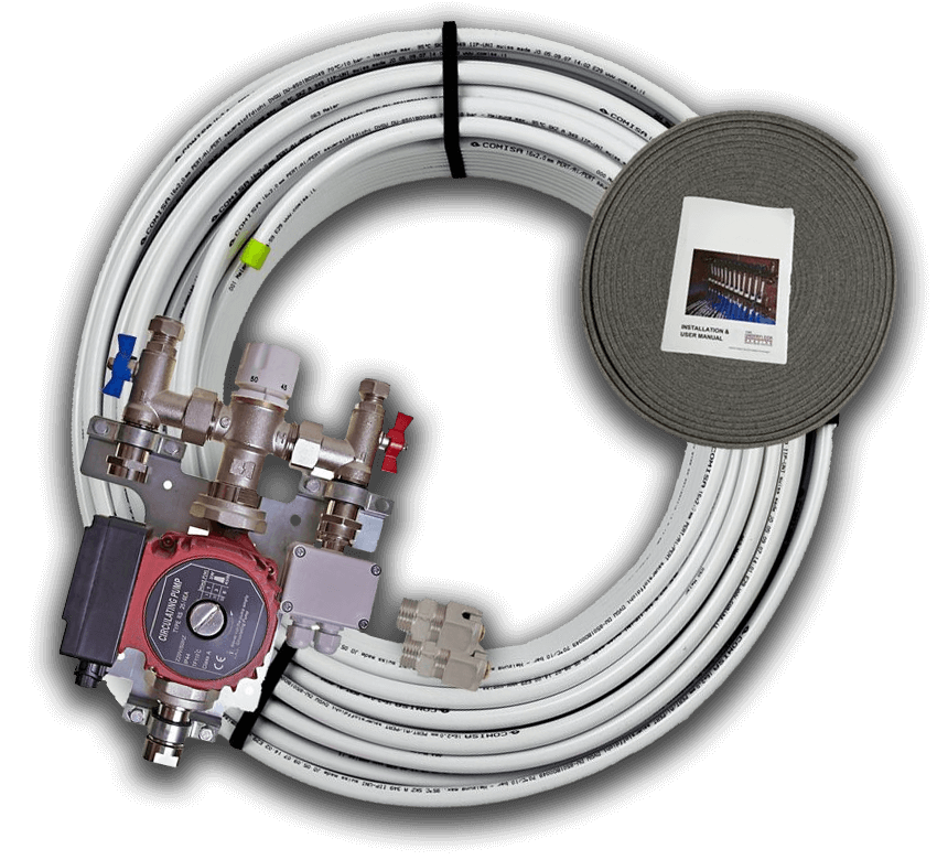 Underfloor Heating Kits with an A rated EuP ready pump