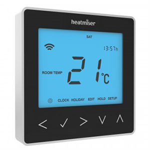 Heatmiser 'neoStat' thermostat (Black)