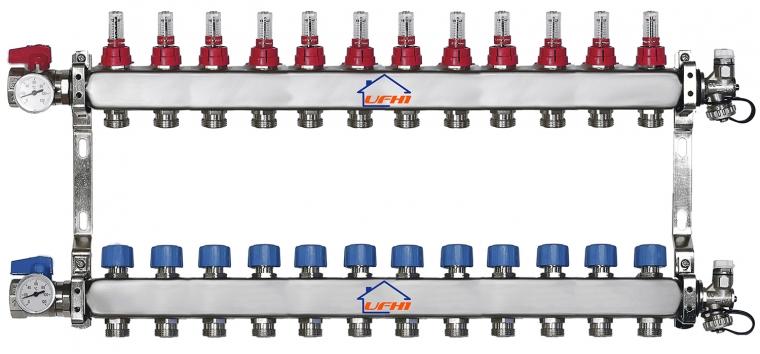 Premium 12 Port Manifold