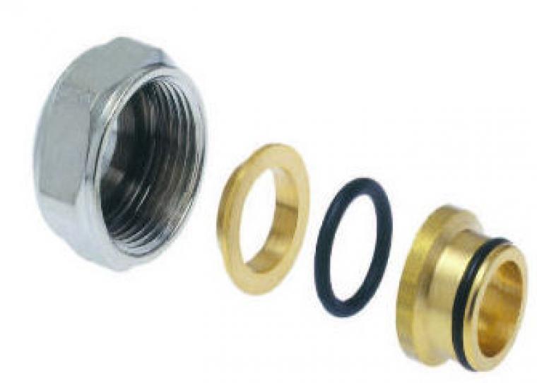 Manifold Pipe Connectors - 15x2 / 16x2 / 17x2 / 20x2mm