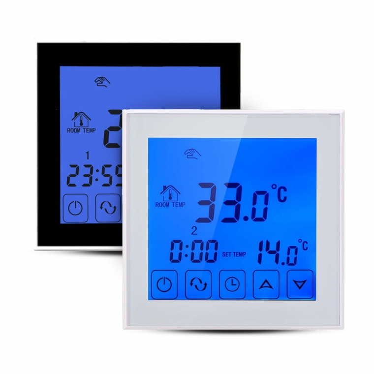 UFH1 7 Day Programmable Touch Screen Thermostat
