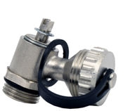 Drain valve with hose connector