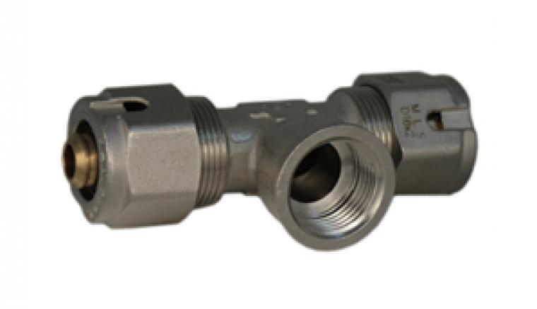16mm - 1/2in bsp female tee complete