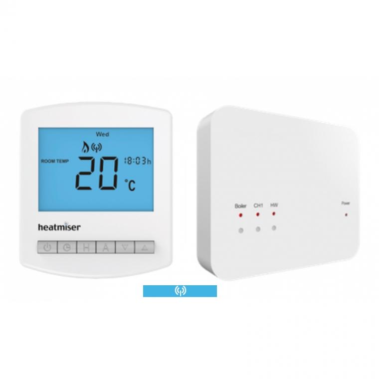 Slimline RF Kit - Multi Mode Wireless Programmable Room Thermostat & Receiver