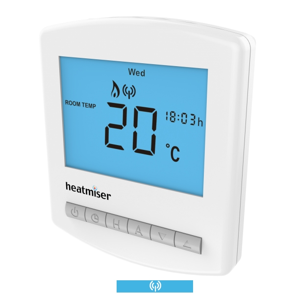 Slimline RF - Multi Mode Wireless Programmable Room Thermostat