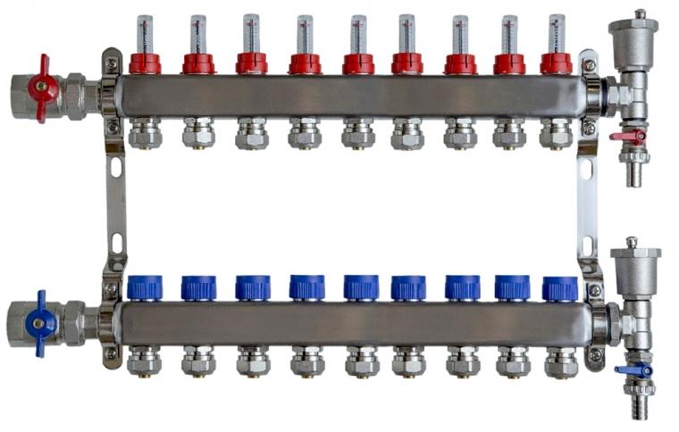 Standard 9 Port manifold