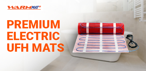 Premium Electric<br>Underfloor Heating Mats